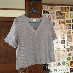 A New Day sheer top